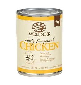 Wellness Wellness Dog 95 Percent Can Chicken 13oz