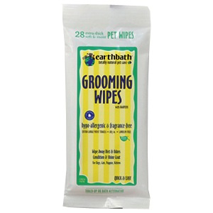 Earthbath Earthbath Travel Hypo-Allergenic Grooming Wipes 28 count