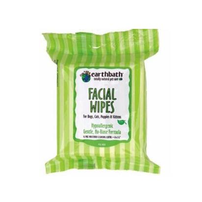 Earthbath Earthbath Facial Grooming Wipes 25 count