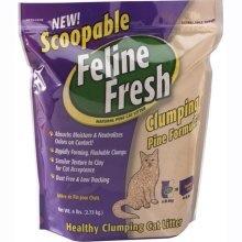 Feline Fresh Feline Fresh Clumping Pine Litter 7.7kg
