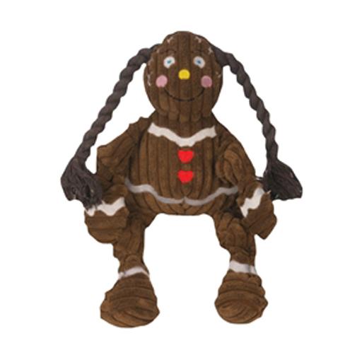 Hugglehounds HuggleHounds Knotties Gingerbread Girl Medium