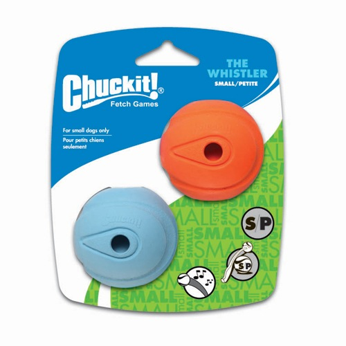 Canine Hardware Chuckit! The Whistler Small 2pk