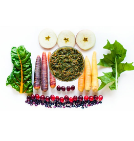 Raw By Bailey Blu Raw Fruit + Vegetable Purée, FV, .5lb