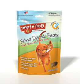 Emerald Pet Products Smart n' Tasty Feline Dental Treat Chicken 3oz