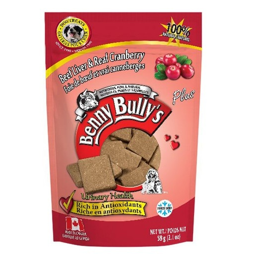 Benny Bully's Benny Bully's Beef Liver Plus Cranberry 58g