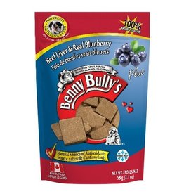 Benny Bully's Benny Bully's Beef Liver Plus Blueberry 58g