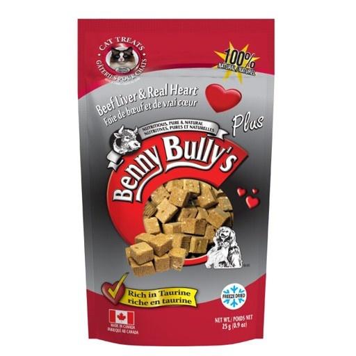 Benny Bully's Benny Bully's Beef Liver Plus Heart Cat Treats