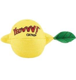 Yeowww Yeowww Sour Puss Lemon Catnip Toy