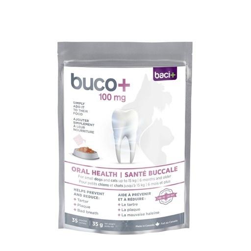 Baci+ Buco+ Oral Health for Small Dog and Cats 100mg