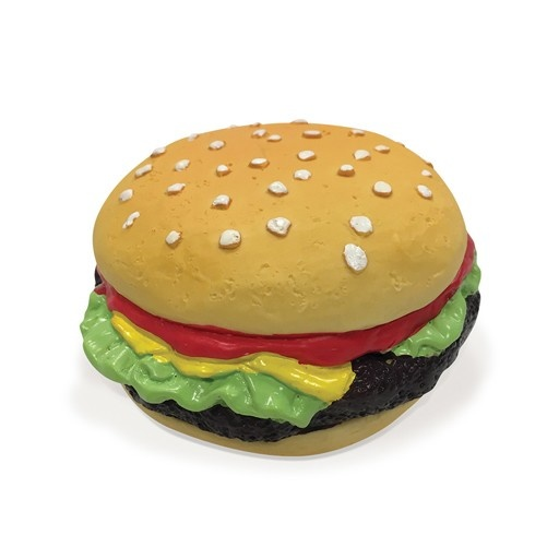 Fou Fou Dog Fou Fou Fit Latex Fast Food Hamburger