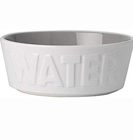 Petrageous Petrageous Back to Basics Water White/Grey Bowl 2.5 cups
