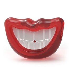 Fou Fou Dog Fou Fou Fit Paci-Chew Lips w/Teeth