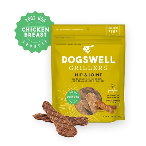 Dogswell Dogswell Hip & Joint Chicken Grillers 4oz