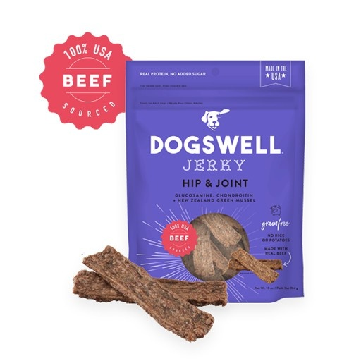 Dogswell Dogswell Hip & Joint Beef Jerky 10oz