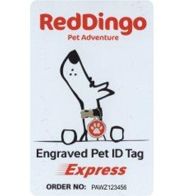 Red Dingo Red Dingo Tag Express Card