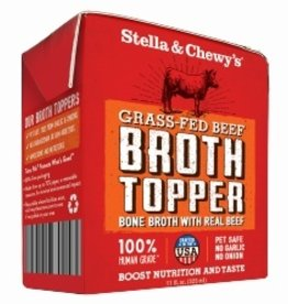 Stella & Chewy's Stella & Chewy's Broth Topper Grass-Fed Beef Recipe 11oz