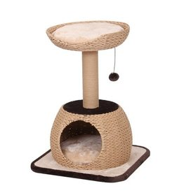 Petpals Petpals Cat Tree w/Condo Natural Post