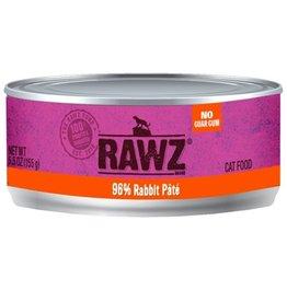 Rawz Rawz Cat Can 96% Rabbit 5.5oz