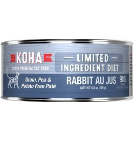 Koha Koha Cat Can 96% Rabbit Pate 5.5oz