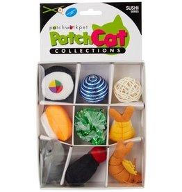 Patchwork Pet Patchwork Pet Patchcat Sushi Box 9pk