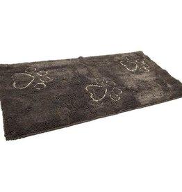 """Dog Gone Smart Dirty Dog Doormat Floor Runner Misty Grey 60x30"""""""