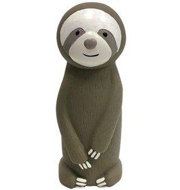 Fou Fou Dog Fou Fou Plush Sloth Collection Latex Sloth Cruncher Toy