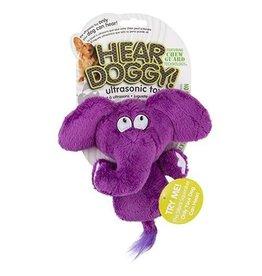 Go Dog Hear Doggy Flattie Elephant Mini