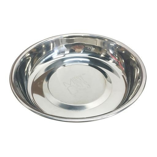 Messy Mutts Messy Mutts Stainless Saucer Shaped Bowl