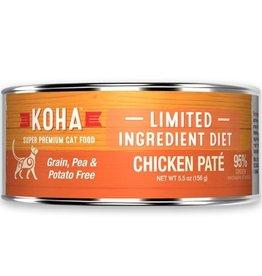 Koha Koha Cat Can 96% Chicken Pate 5.5oz