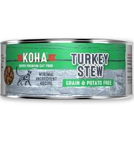 Koha Koha Cat Can Turkey Stew 5.5oz