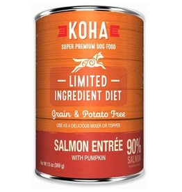 Koha Koha Dog Can 90% Salmon Pate 13oz