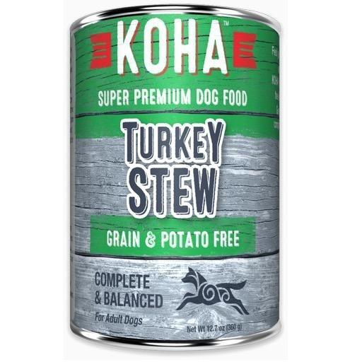 Koha Koha Dog Can Turkey Stew 12.7oz