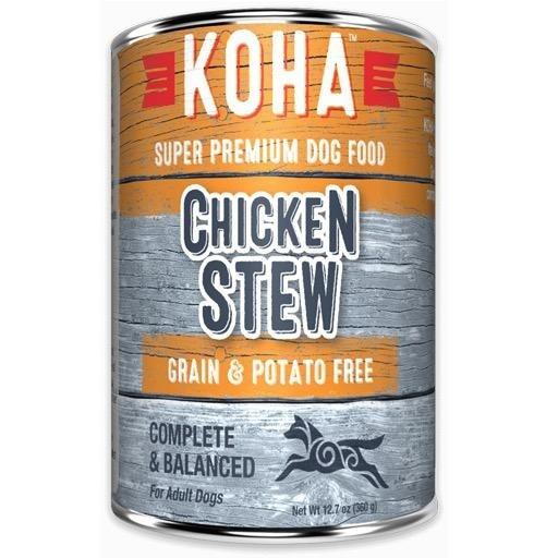 Koha Koha Dog Can Chicken Stew 12.7oz