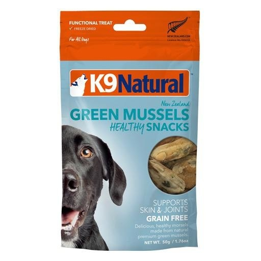 K9 Natural K9 Natural Freeze Dried Green Lipped Mussel Treats 50g