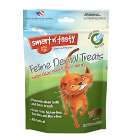 Emerald Pet Products Smart n' Tasty Feline Dental Treat Catnip 3oz