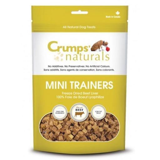 Crumps' Naturals Crumps Naturals Mini Trainers Freeze Dried Beef Liver 105g