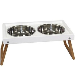 Be One Breed Be One Breed Zen Folding Elevated Dog Bowls Large