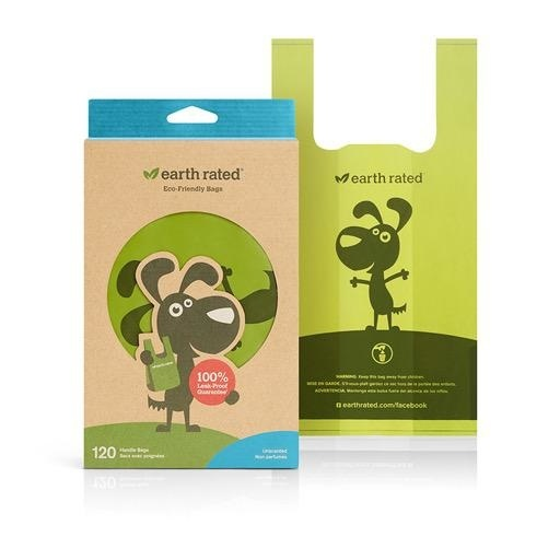 Earth Rated Earth Rated Unscented Easy Tie Handle Bags 120ct