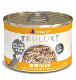 Weruva Truluxe On the Cat Wok Cat Can 6oz