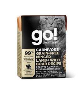 Petcurian GO! Tetra Pak Cat Minced Lamb and Wild Boar 6.4oz