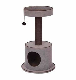 Petpals Petpals 2-Level Cat Tree Chenille w/Condo