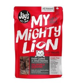 Waggers Jay's My Mighty Lion Salmon Cat Treats 75g