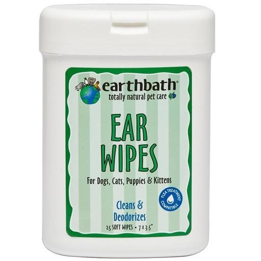 Earthbath Earthbath Ear Grooming Wipes 25ct
