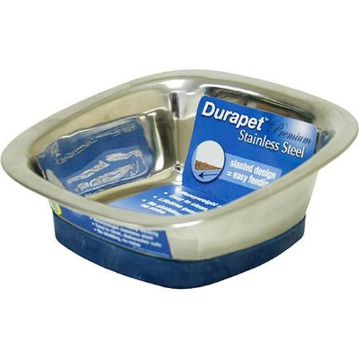 Our Pets Our Pets Durapet Square Bowl Medium