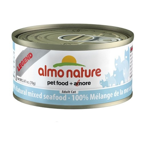 Almo Almo Nature Cat 100% Mixed Seafood in Broth 70g