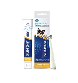 Bluestem Bluestem Oral Care Toothpaste and Toothbrush Chicken 70g