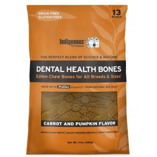 Indigenous Indigenous Dental Health Bones Carrot & Pumpkin Formula 17oz