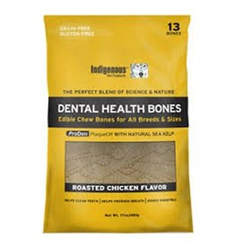 Indigenous Indigenous Dental Health Bones Roasted Chicken 17oz