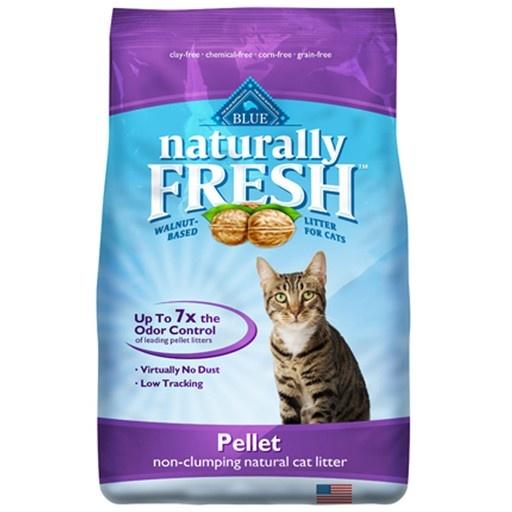 Blue Naturally Naturally Fresh Pellet Cat Litter (Non-Clumping) 4.54kg