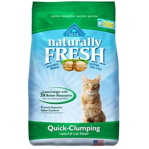 Blue Naturally Naturally Fresh Quick Clumping Cat Litter 6.35kg